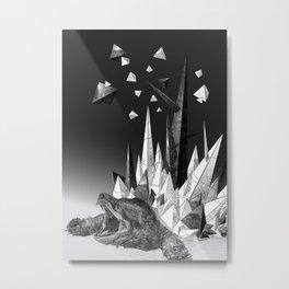 Icy Koopa Metal Print