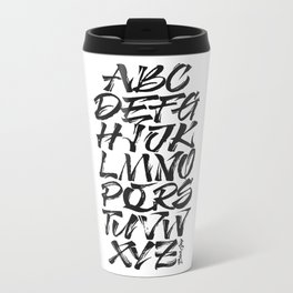ALPHA Metal Travel Mug