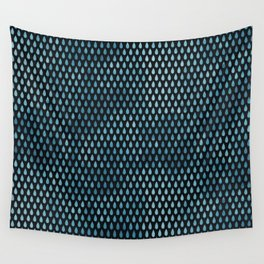 Rain Drop Pattern Wall Tapestry