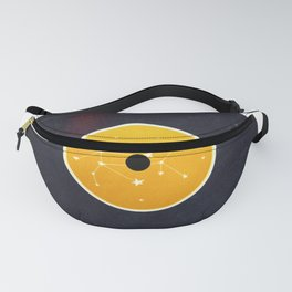 Vinyl Record Star Sign Art | Leo Fanny Pack