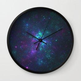 Purple Cluster Galaxy Version 2 Wall Clock