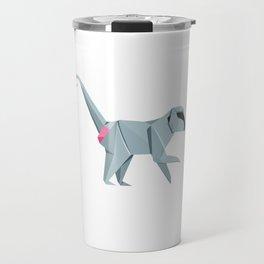 Baboon Origami Travel Mug