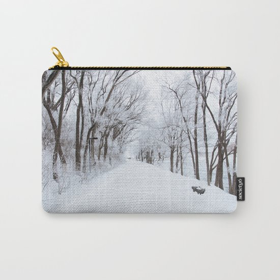 Winter Memories Carry-All Pouch