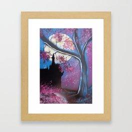 Once Upon A Castle #3 Framed Art Print