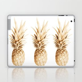 Pineapples and illusion Laptop & iPad Skin