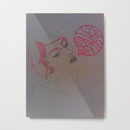 seventeen Metal Print