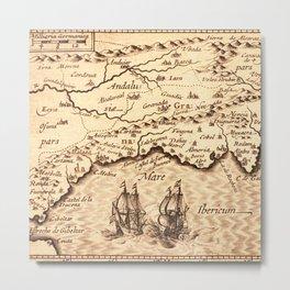 Old Maps 510 Metal Print