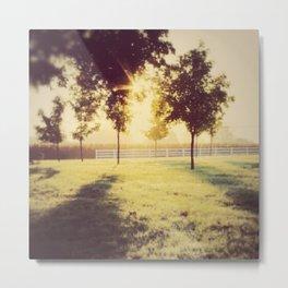 Lancaster sunrise Metal Print