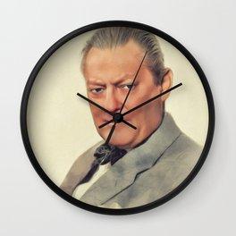 Lionel Barrymore, Vintage Actor Wall Clock