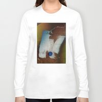 butt Long Sleeve T-shirts featuring a butt by ONEDAY+GRAPHIC