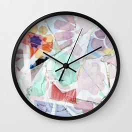 Mosaic of Barcelona V Wall Clock