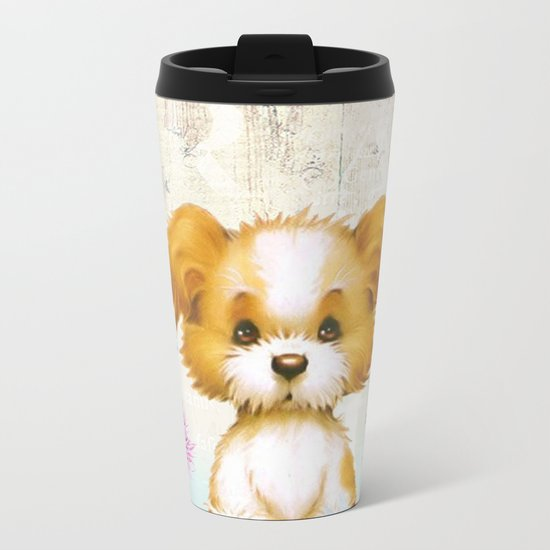Sweet animal #3 Metal Travel Mug