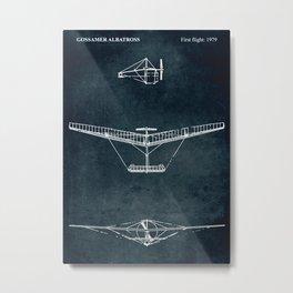 GOSSAMER ALBATROSS - First flight 1979 Metal Print