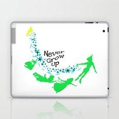 Peter Pan, never grow up Laptop & iPad Skin
