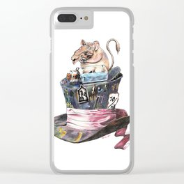 Doormouse Clear iPhone Case