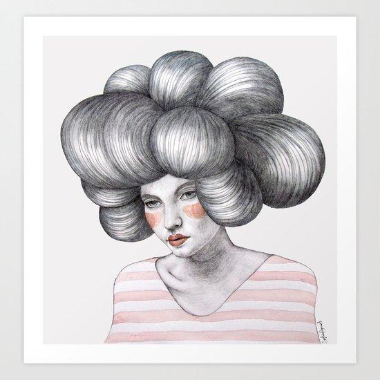 Agata Art Print