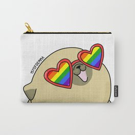 Pug love lgtb pride Carry-All Pouch