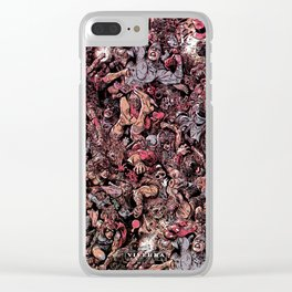 Infinite Battle Of Quantum Stacked SurReality Clear iPhone Case