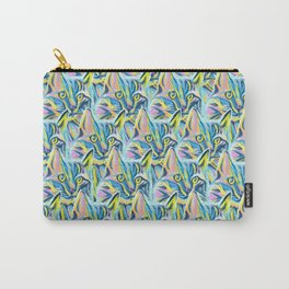 Cat Pattern Carry-All Pouch