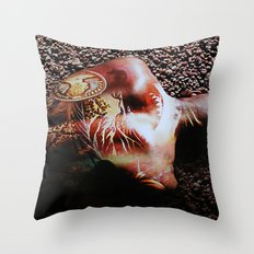 Illustrated Throw Pillow