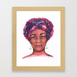 Stellar thoughts Framed Art Print