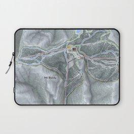 Mt Baldy Resort Trail Map Laptop Sleeve