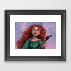 Merida from Brave Framed Art Print