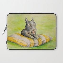 Sadie_Watercolor by Bruce Grant Laptop Sleeve