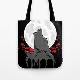 Howl at the Moon (Awoo) Tote Bag