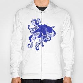 Blue Octopus Hoody