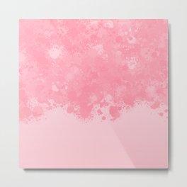 paint splatter on gradient pattern pw Metal Print