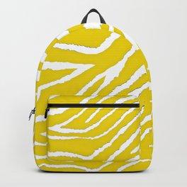 Zebra Golden Yellow Backpack