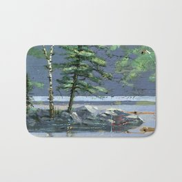 eagle's nest Bath Mat