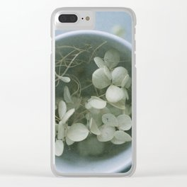 My cup runneth over Clear iPhone Case