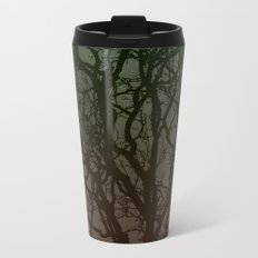 Ombre branches Metal Travel Mug