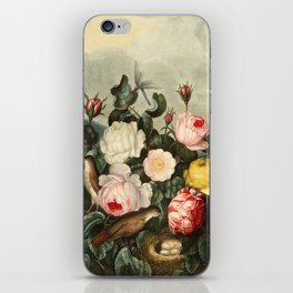 Pink  Red Floral : New Illustration Of The Sexual System iPhone Skin