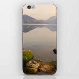 ennerdale water autumn sunset iPhone Skin