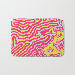 Coral Dud Bath Mat
