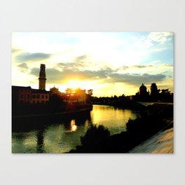 Veronese Sunset Canvas Print