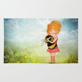 Bee Whisperer - Save the Bees Rug