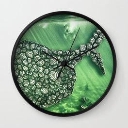 Ballena Espiral Wall Clock