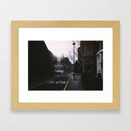 London Victoria Framed Art Print