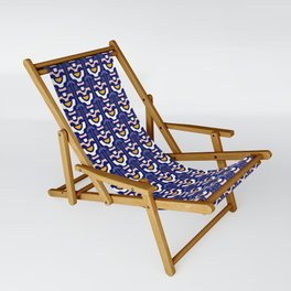 Retro Flower Sling Chair