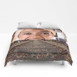 Open Wide Comforters