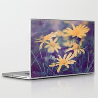 woodstock Laptop & iPad Skins featuring Woodstock Daisy  by Scotty Photography