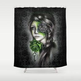INSOMNIA Shower Curtain