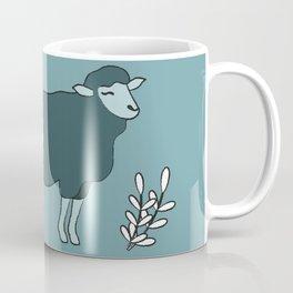 Green Sheep on Fleek Coffee Mug