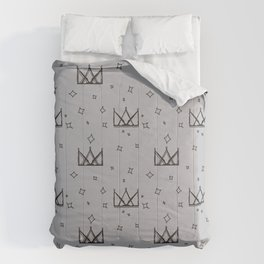 Crowns and Stars Comforters