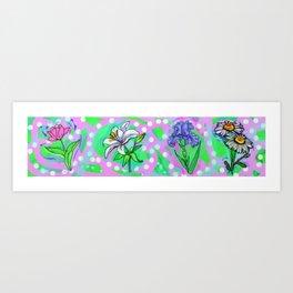 Flower Me Up Art Print