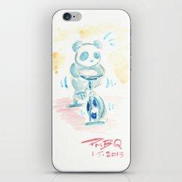 Spin Panda iPhone Skin